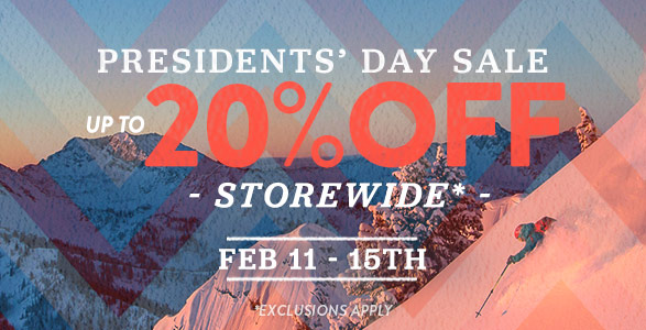 IN-STORE PRESIDENTS' DAY SALE: FEBRUARY 11-15