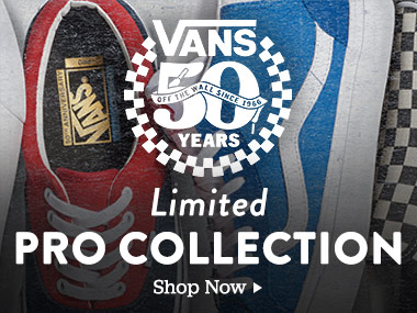 Vans 50 Years Limited Pro Collection