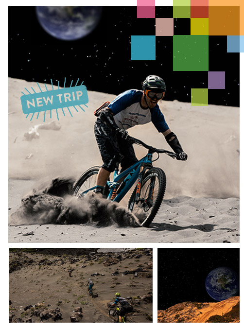 Moon Mountain Biking Package