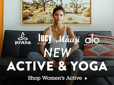 New Active and Yoga. Shop Womens Active.
