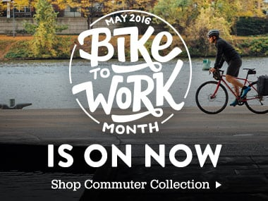 Bike To Work Month Is On Now. Shop Commuter Collection