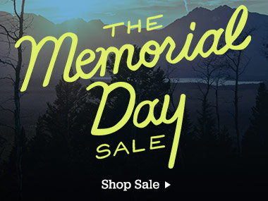 The Memorial Day Sale. Shop Sale.