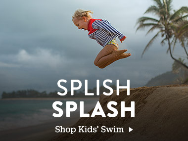 Splish Splash. Shop Kids' Swim.