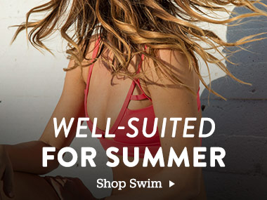 Well-Suited For Summer. Shop Swim.