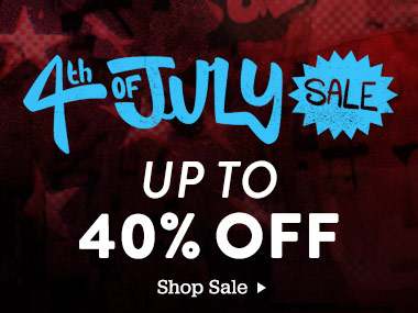 4th Of July Sale. Up To 40% Off. Shop Sale.