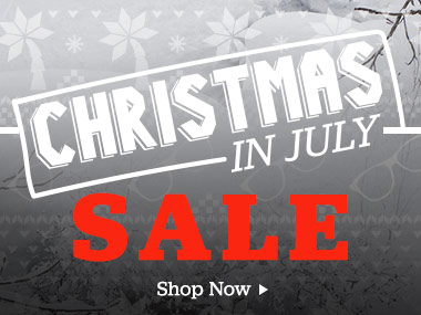 Christmas In July Sale. Shop Now.