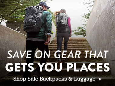 Save on gear that gets you places. Shop Sale Backpacks and Luggage.