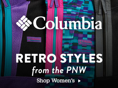 Columbia. Retro Styles from the PNW. Shop Women's.