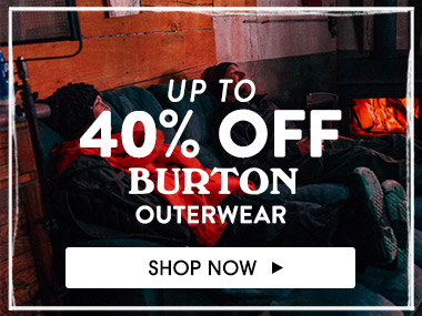 Up to 40% off Burton outerwear. Shop Now.