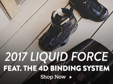 2017 Liquid Force featuring the 4D binding system. Shop Now.