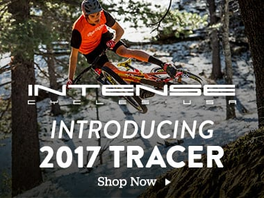 Intense Cycles USA. Introducing the 2017 Tracer. Shop Shoes.