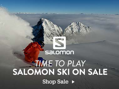 Salomon. Time to Play. Salomon Ski on Sale. Shop Sale.