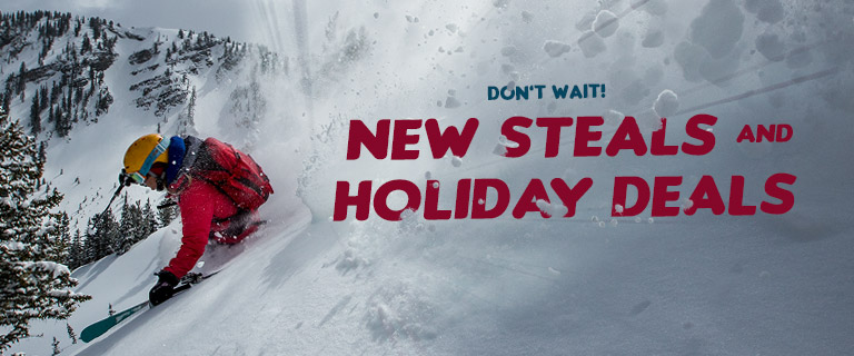 Dont Wait! New Steals and Holiday Deals.