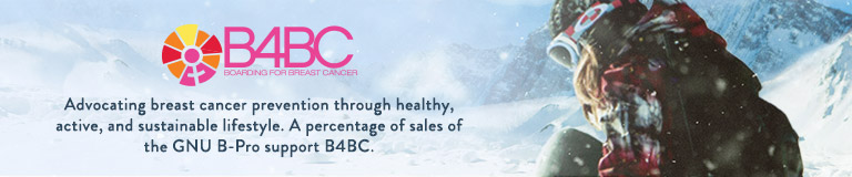 B4BC. Boarding for Breat Cancer. Advocating breast cancer prevention through healthy, actuve and sustainable lifestyle. A percentage of sale of GNU B-Pro support B4BC.