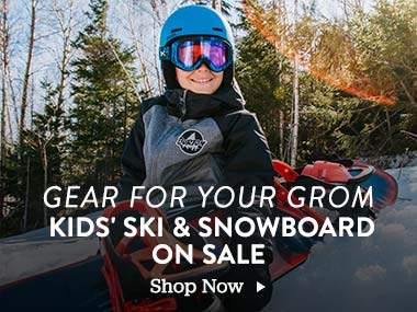 Gear for your Grom. Kids Ski and Snowboard On Sale. Shop Now