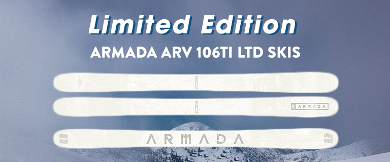 Limited Edition Armada ARV 106TI LTD Skis.
