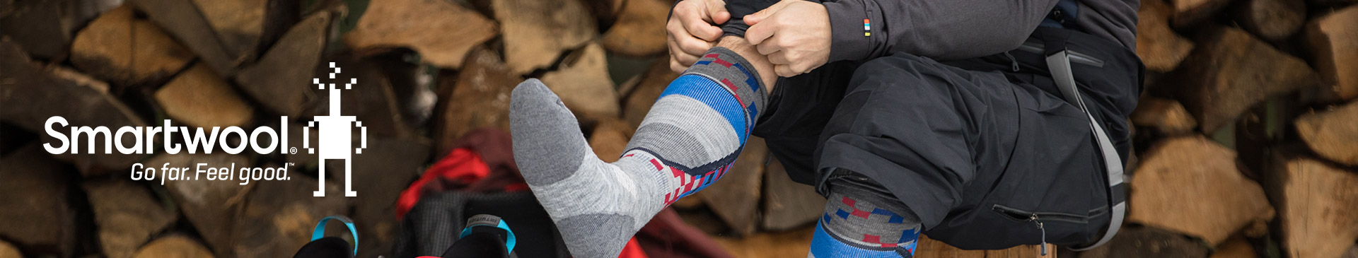 Smartwool. Go far. Feel good.