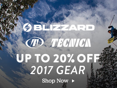 Blizzard, Tecnica Up To 20% Off 2017 Gear. Shop Now.