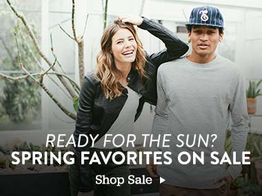 Ready for the Sun? Spring Favorites on Sale. Shop Sale.