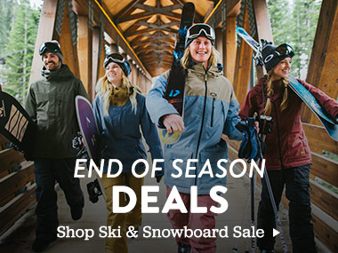 End of Season Ski and Snowboard Deals