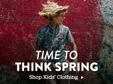Time to Think Spring. Shop Kids' Clothing.