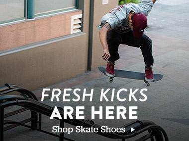 Fresh Kicks Are Here. Shop Skate Shoes.