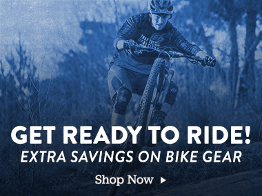 Get Ready To Ride! Extra Savings On Bike Gear. Shop Now.