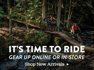It's Time to Ride. Gear Up Online or In-Store. Shop New Arrivals.