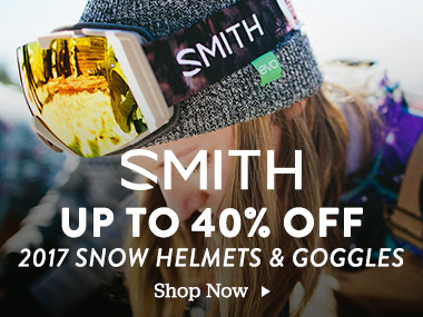 Smith Up To 40% Off 2017 Snow Helmets and Goggles. Shop Now.
