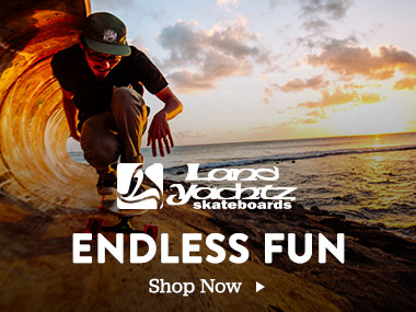 Landyachtz Skateboards. Endless Fun. Shop Now