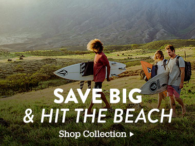Save Big and Hit the Beach. Shop Collection.