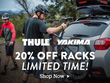 Thule, Yakima. 20% off racks. Limited Time. Shop Now.
