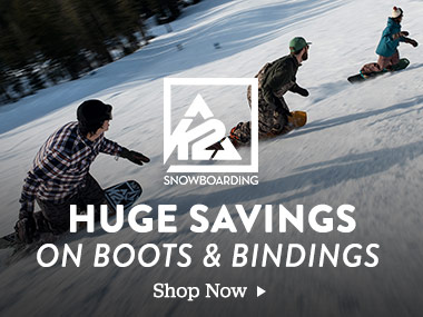 K2 Snowboaring. Huge Savings on Boots and Bindings. Shop Now.