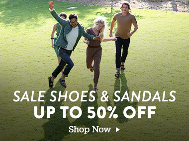 Sale Shoes and Sandals Up to 50% Off. Shop Now.