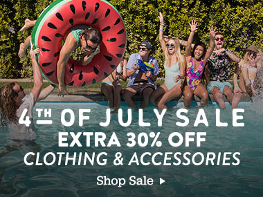 4th of July Sale. Extra 30 off. Clothing and Accessories