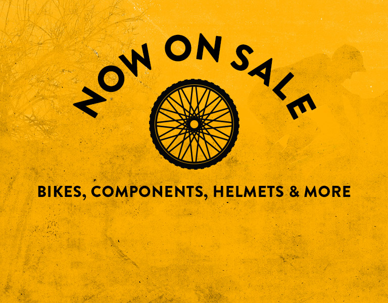 Now On Sale. Bikes, Components, Helmets & More.