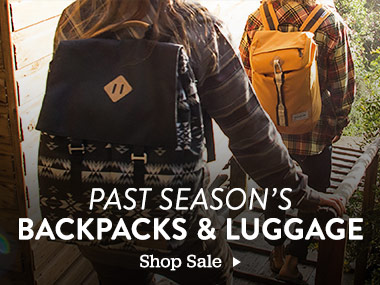 Past Season's Backpacks and Luggage. Shop Sale.