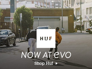 Huf Now at evo. Shop Huf.