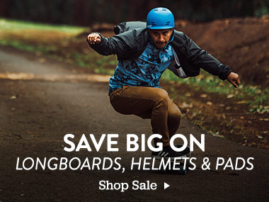 Save Big on Longboards, Helmets and Pads. Shop Sale