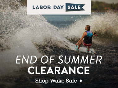 Labor Day Sale. End of Summer Clearance. Shop Wake Sale