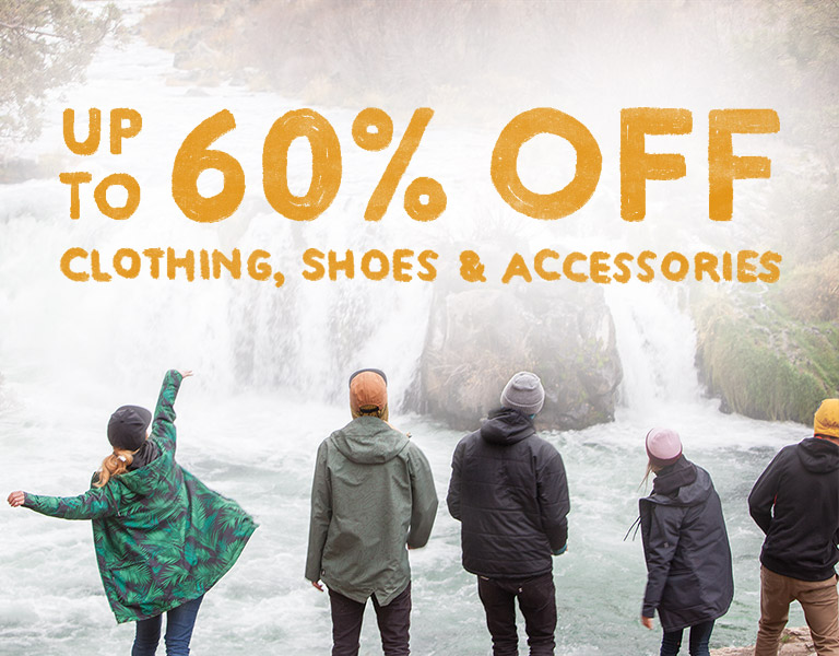 Clothing, Shoes, Accessories. Up to 60% Off.