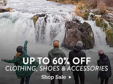 Up ton 60% off Clothing, Shoes and Accessories. Shop Sale.