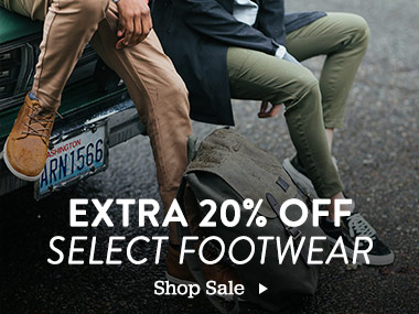 Extra 20% Off Select Footwear. Shop Sale.