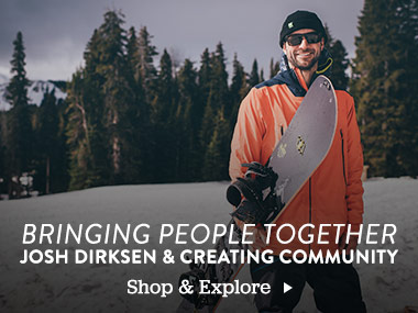 Brining People Together. Josh Dirksen And Creating Community. Shop and Explore.
