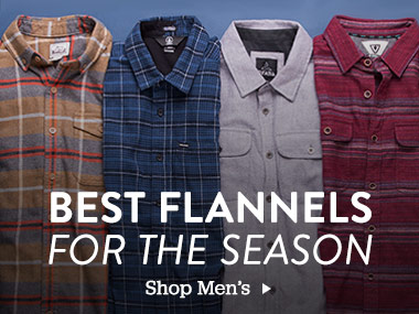 Best Flannels For the Season. Shop Men's.