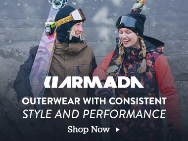 Armada. Outerwear with Consistent Style and Performance. Shop Now.