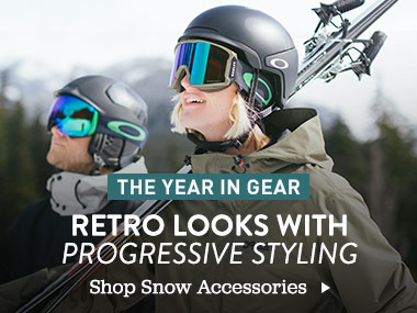 The Year In Gear. Retro Looks With Progressive Styling. Shop Snow Accessories.