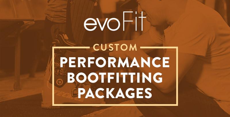 88c5518ea2fe evoFit Custom Ski Boot Fitting Packages
