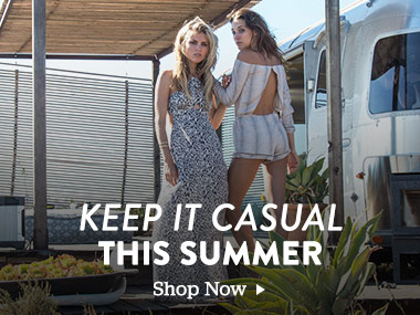 Keep it Casual. This Summer. Shop Now.