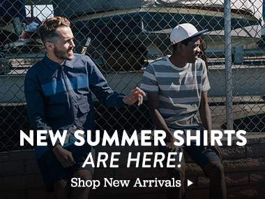 New Summer Shirts are here. Show new arrivals.